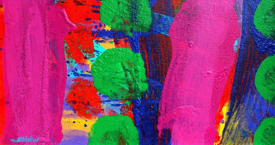 Abstract Painting - Ad Libitum by John  Nolan