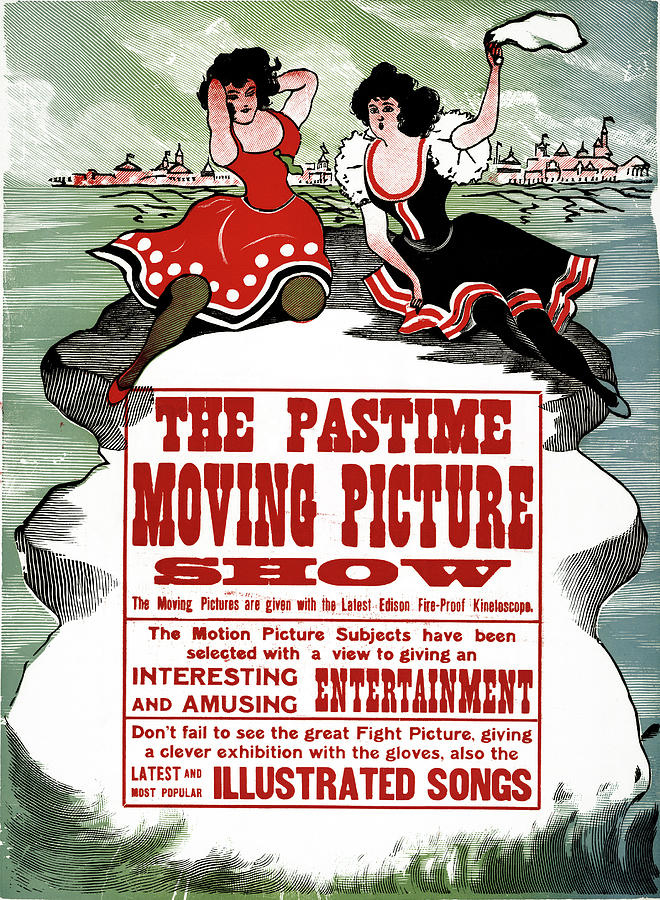 Advertisement Painting - Ad Moving Picture, 1913 by Granger