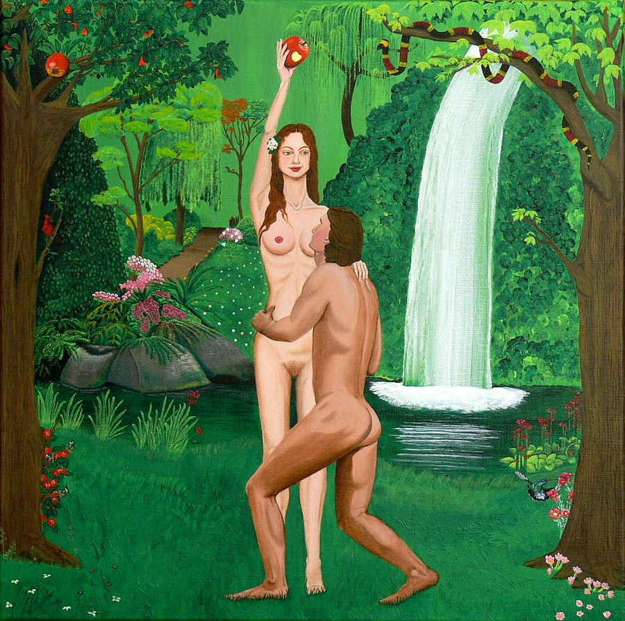 Adam and eve in the ass porn