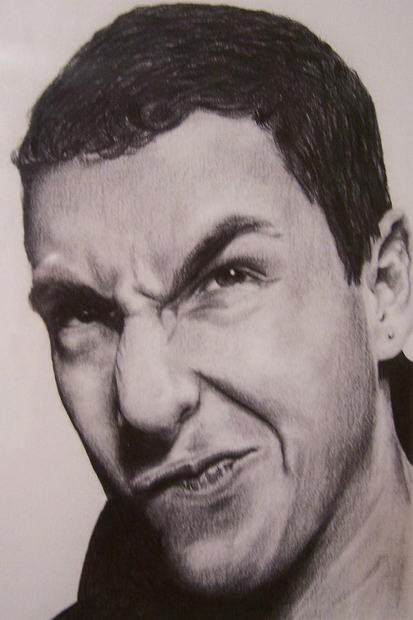 Adam Sandler Drawing By Denniza Colon-Matarelli