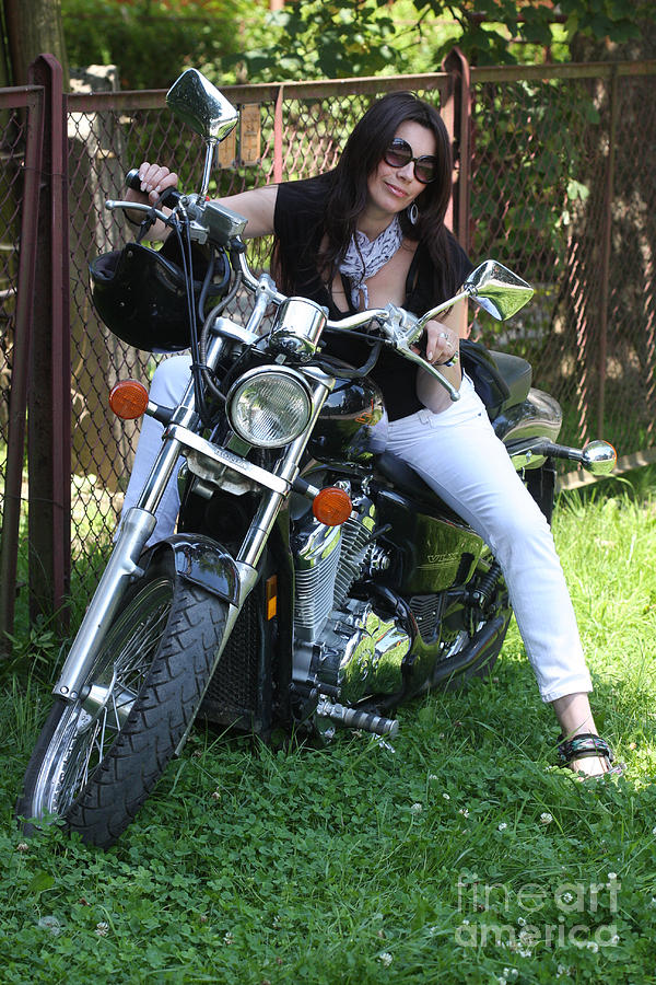 Rider Photograph - Adel Easy Rider by  Andrzej Goszcz