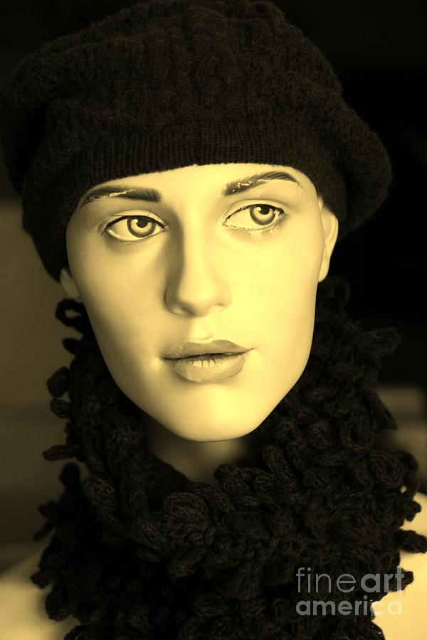 Face Photograph - Adele 3 by Sophie Vigneault