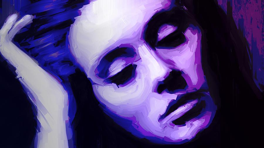 Singers Painting - Adele by Jennifer Hotai