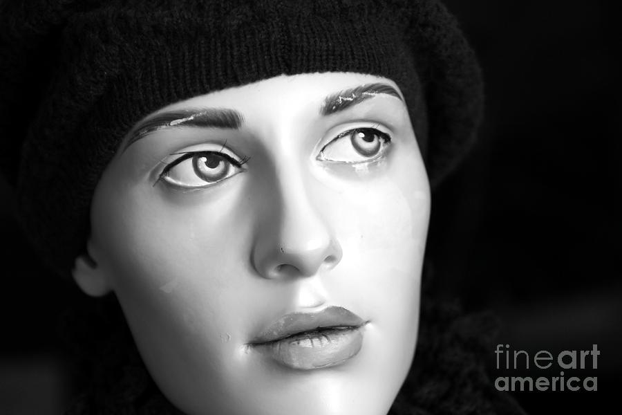Face Photograph - Adele by Sophie Vigneault
