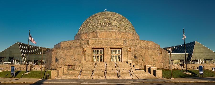 Adler Photograph - Adler Planetarium Chicago Il by Steve Gadomski
