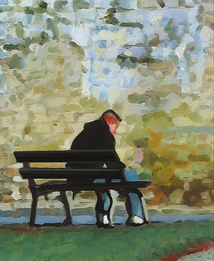 Impressionism Painting - Adolescence by Dominique Amendola