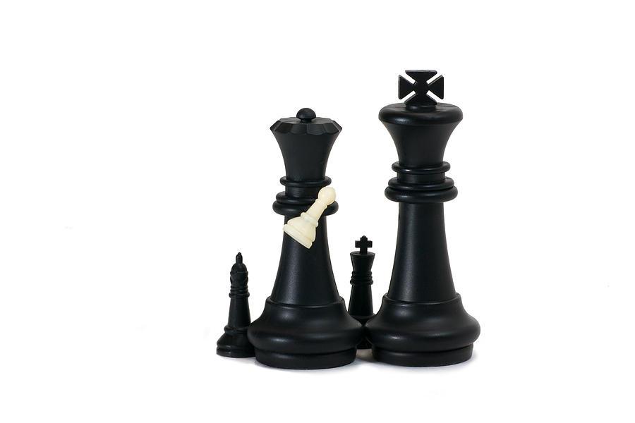Chess Photograph - Adoption - Featured 2 by Alexander Senin
