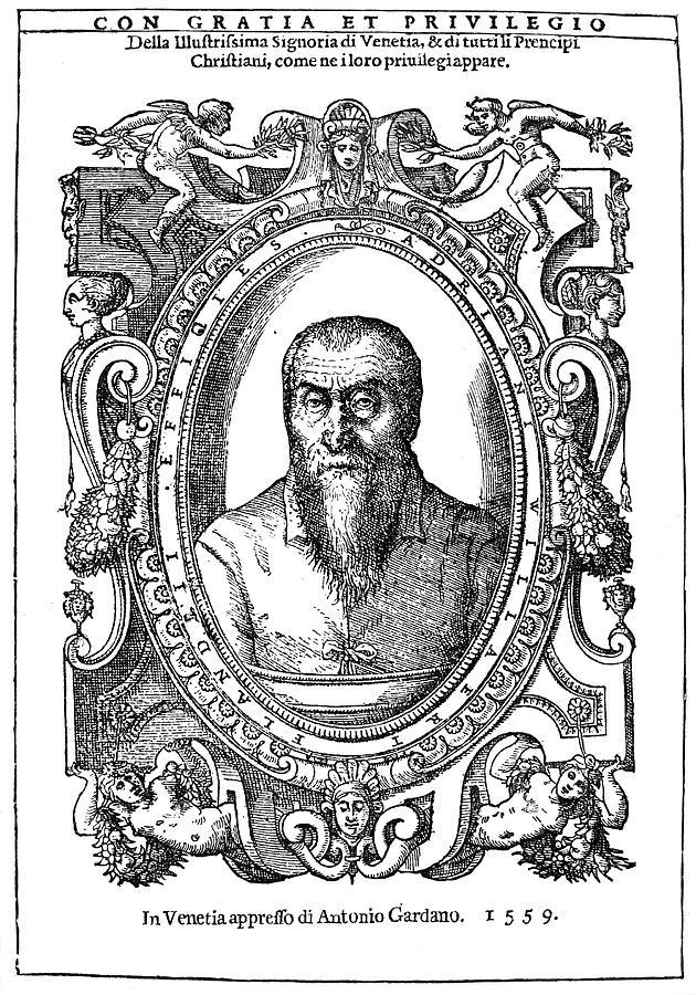 1559 Painting - Adrian Willaert (1480-1562) by Granger