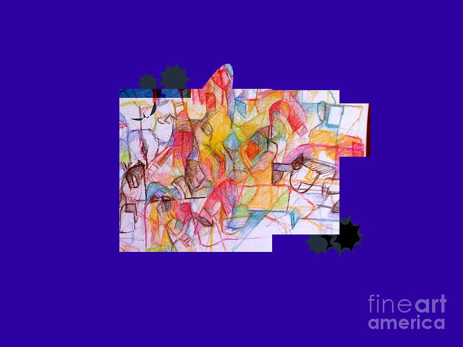 Torah Digital Art - Benefit Of Concealment 1a 2nd by David Baruch Wolk