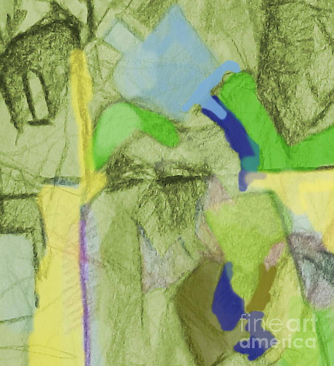 Torah Painting - Benefit Of Concealment 1aa by David Baruch Wolk
