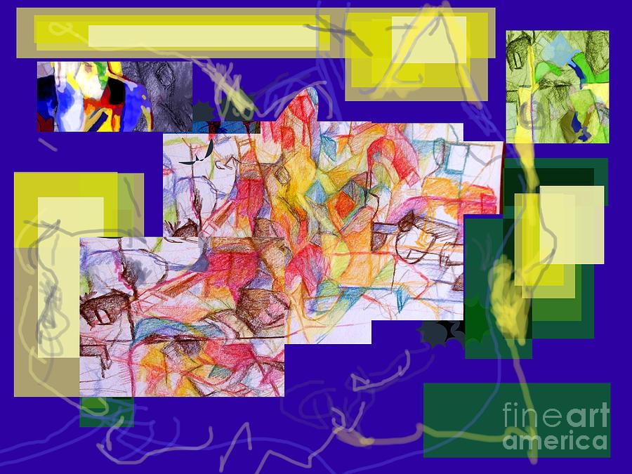 Torah Digital Art - Tzaddik Nistar 2 One by David Baruch Wolk
