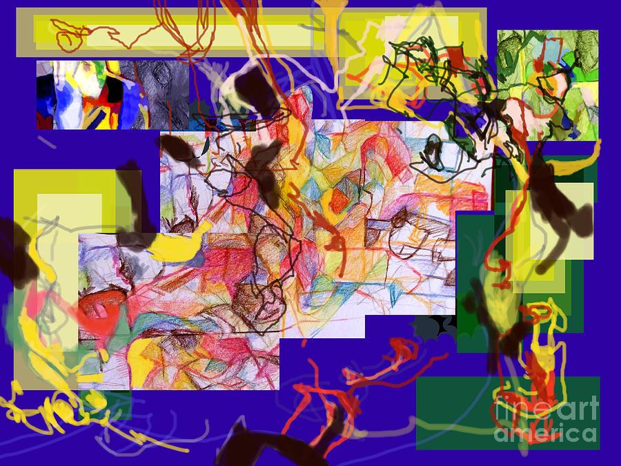 Torah Digital Art - Reviewed Behavior 2 by David Baruch Wolk