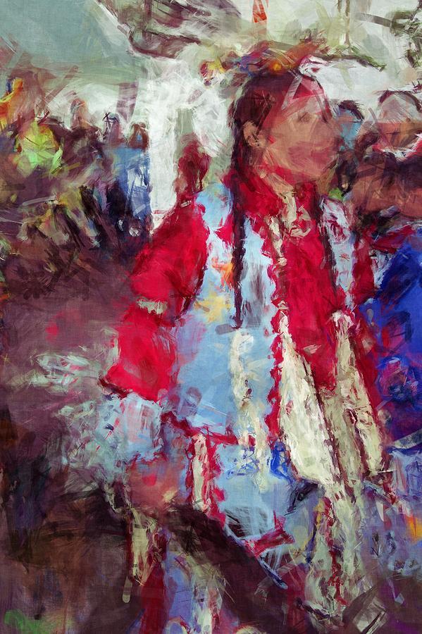 Young Blood Digital Art - Advsgi Gigv by Christy Leigh
