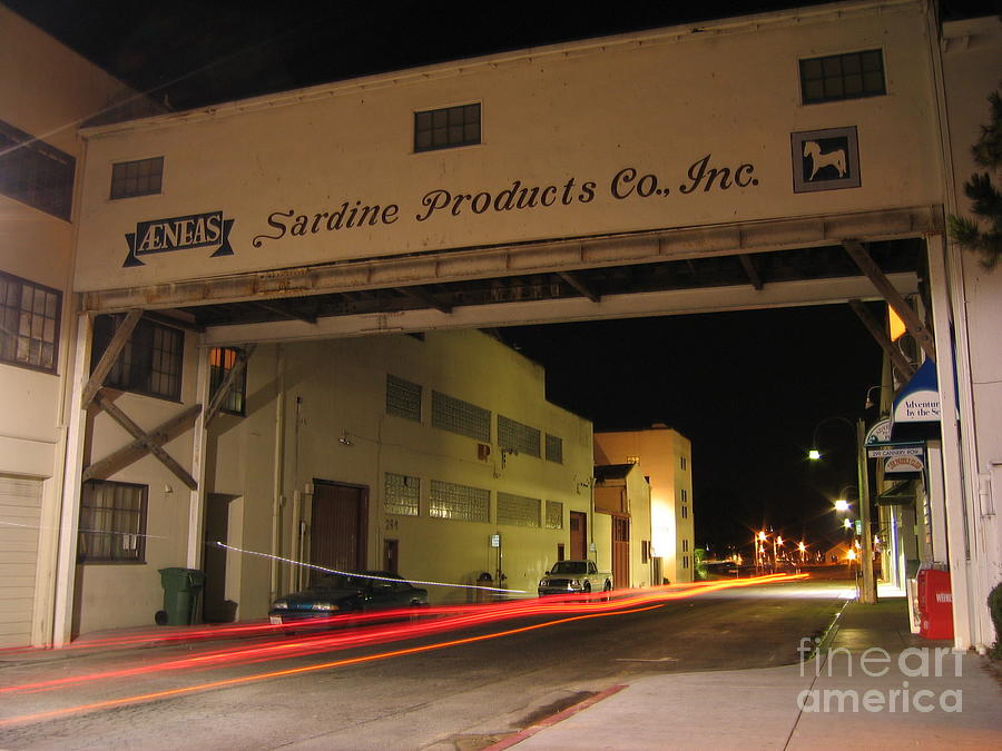Aeneas Overpass on Cannery Row by James B Toy