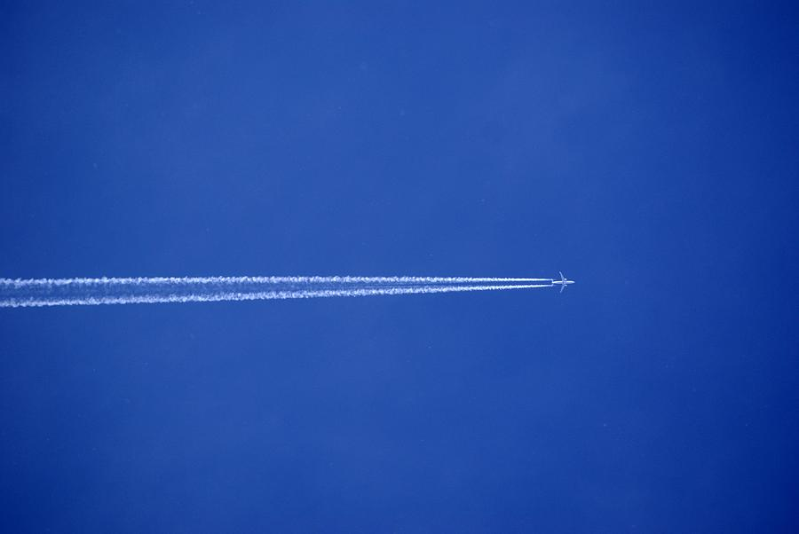 Blue Photograph - Aereo by Niki Mastromonaco