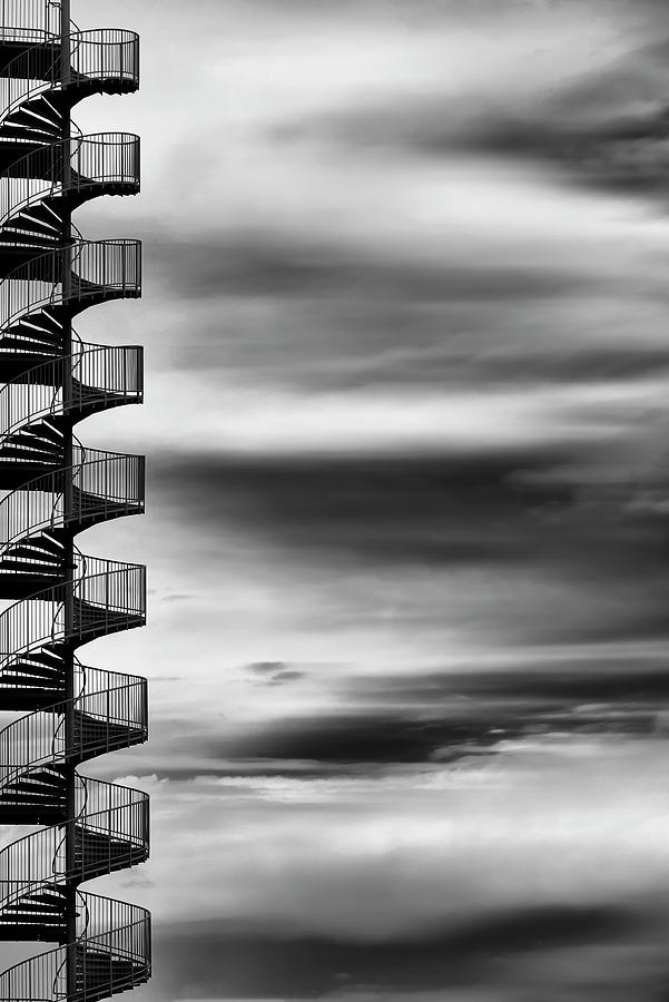 Stairs Photograph - Aerial Helix by Tomoshi Hara