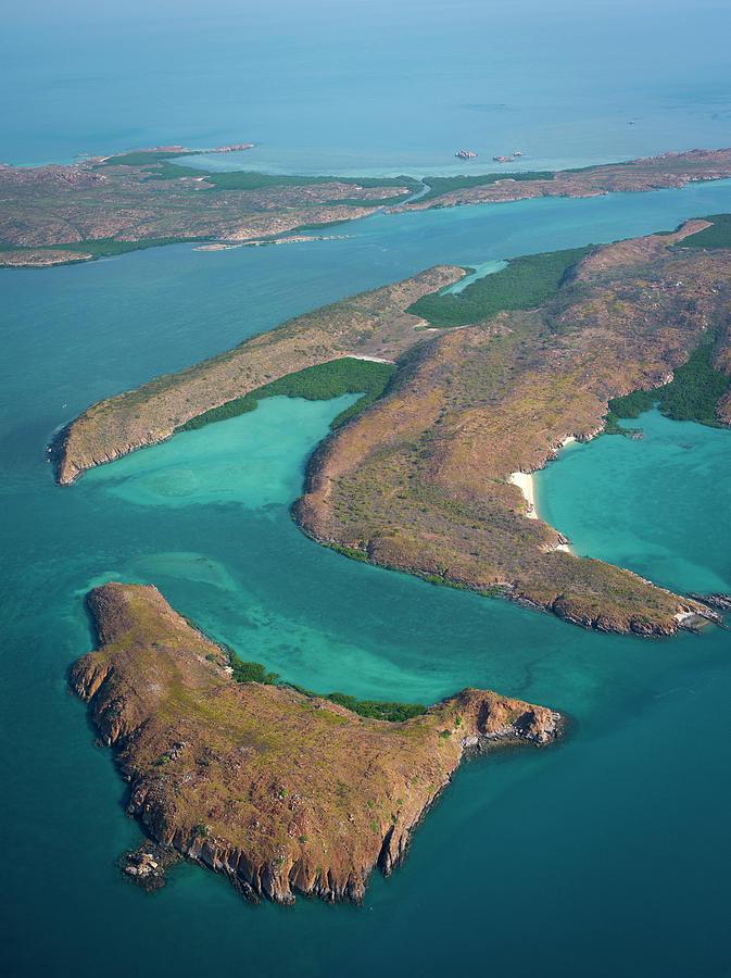 Aerial Of Buccaneer Archipelago Photograph by Ignacio Palacios