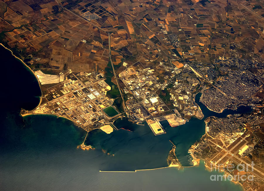 Aerial Photography - Coast Photograph