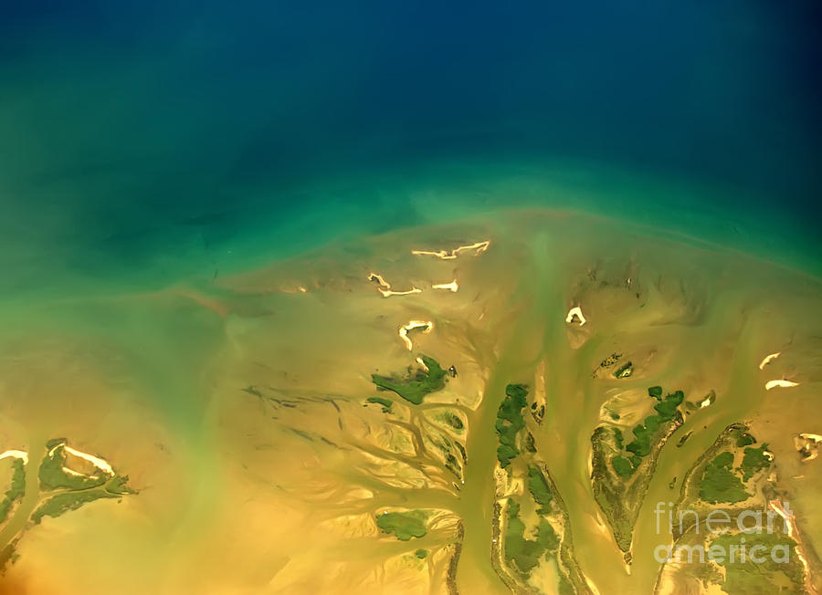 Aerial Photography - Greece Island Photograph