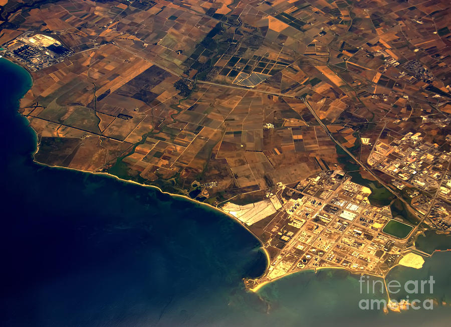 Aerial Photography - Italy Continent Photograph