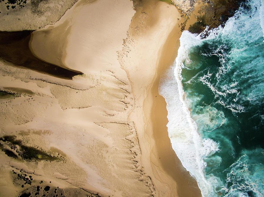 Aerial View Of Beach And Sea Photograph by Aolin Li / Eyeem