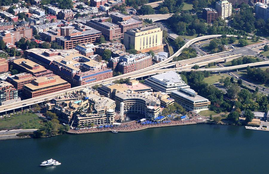 Aerial View Of Georgetown Photograph by Hisham Ibrahim