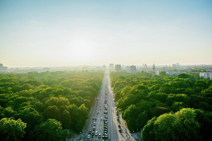 Aerial View Of Highway Amidst Trees Photograph by Alexander Haase / Eyeem