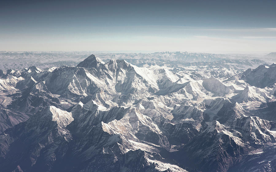 Aerial View Of Himalayas Photograph by Westend61