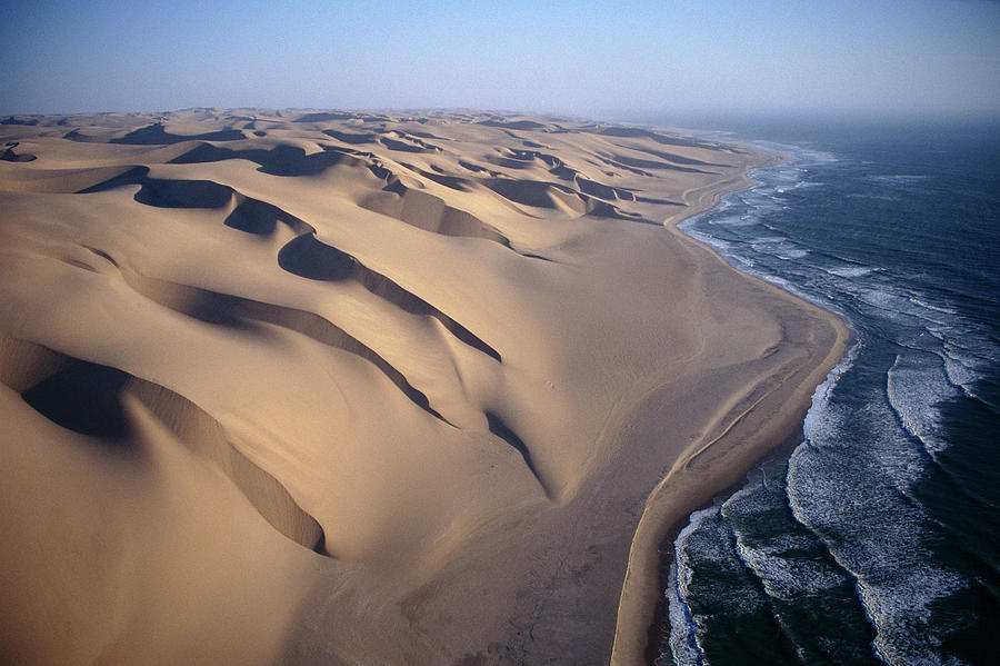Aerial View Of Sand Dunes Photograph by Michael and  Patricia Fogden