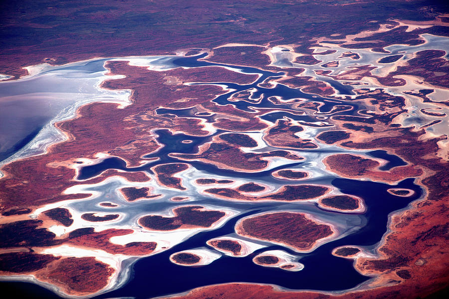 Aerial View Of The Pilbara Landscape Photograph by Tobias Titz