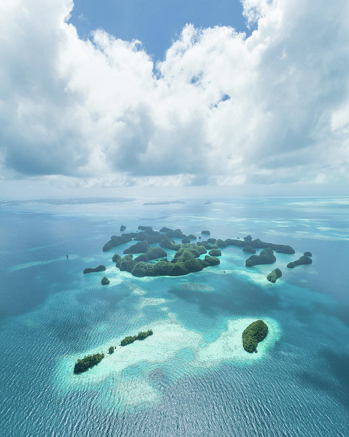 Aerial View Of Tropical Paradise Photograph by Ippei Naoi