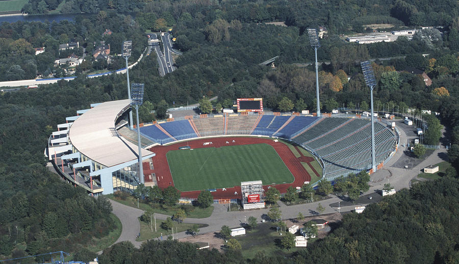 Aerial View Parkstadium Photograph by Marcus Brandt