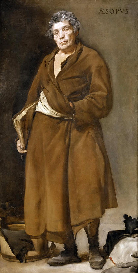 Diego Velazquez Painting - Aesop by Diego Velazquez
