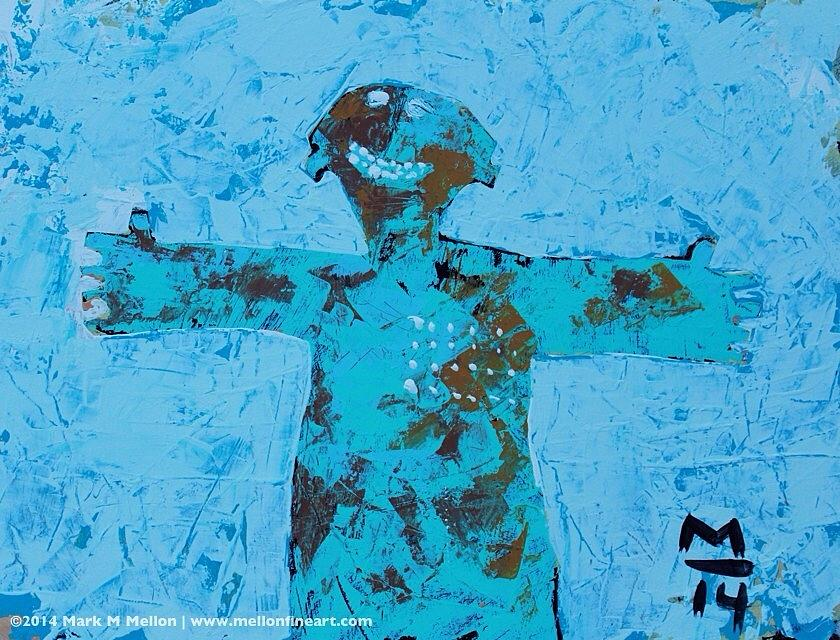 Abstract Painting - Aetas No. 14  by Mark M  Mellon