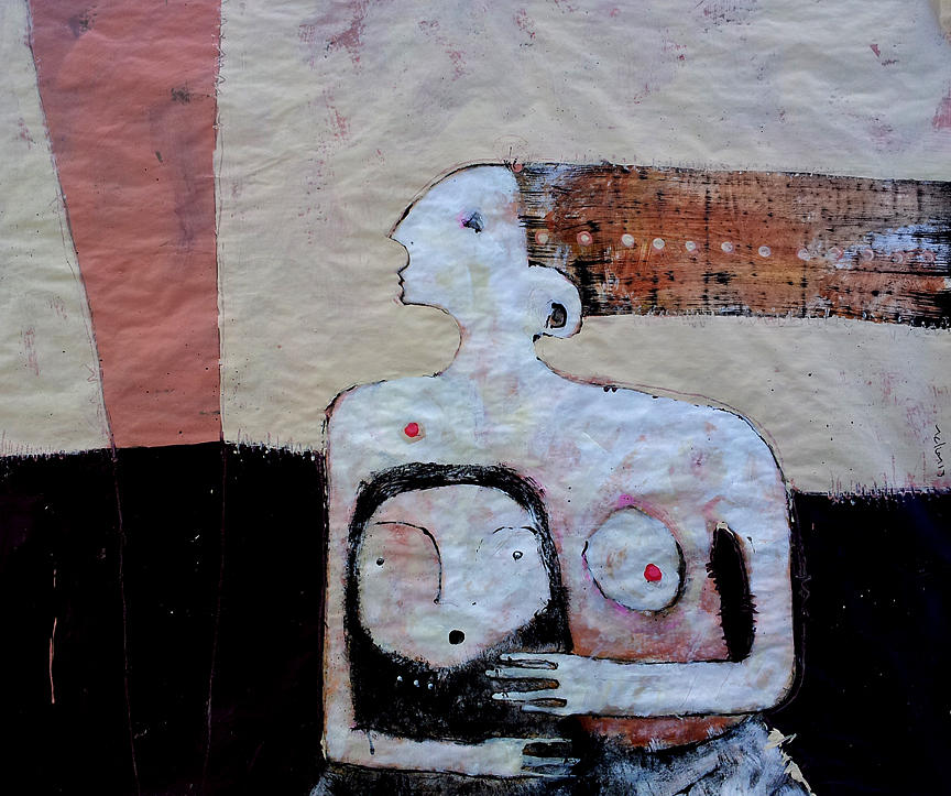 Age Painting - Aetas No 3 by Mark M  Mellon