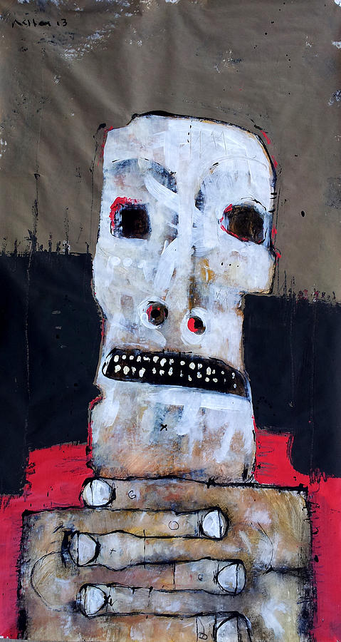 Age Painting - Aetas No 6 by Mark M  Mellon