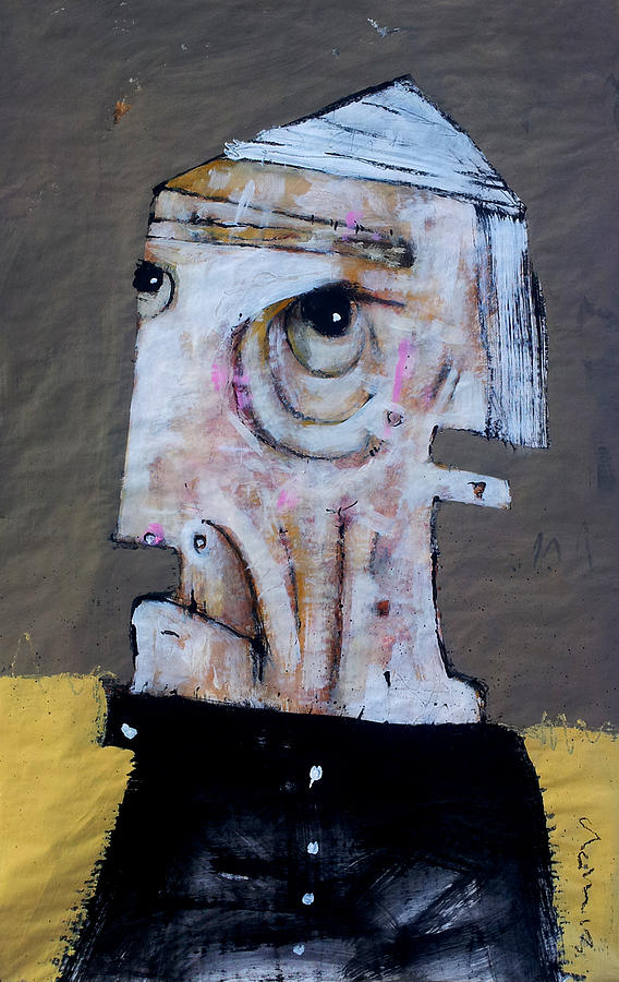 Age Painting - Aetas No 8 by Mark M  Mellon