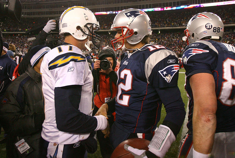 AFC Championship: San Diego Chargers v New England Patriots Photograph by Al Bello
