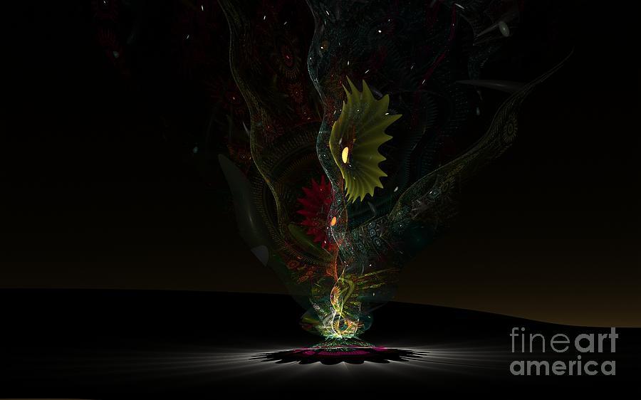 Nicholls Digital Art - Affinity by Peter R Nicholls