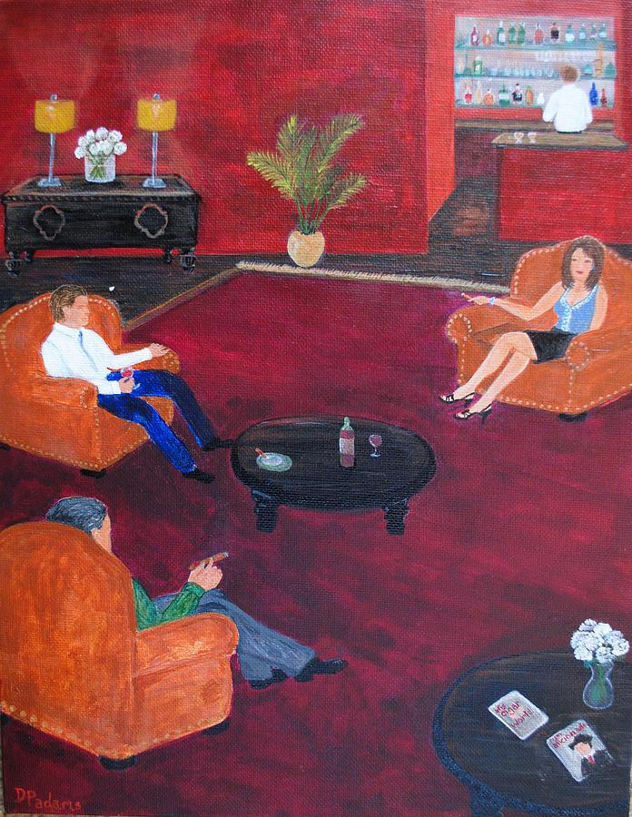 Cigar Painting - Aficionado by Dixie Adams