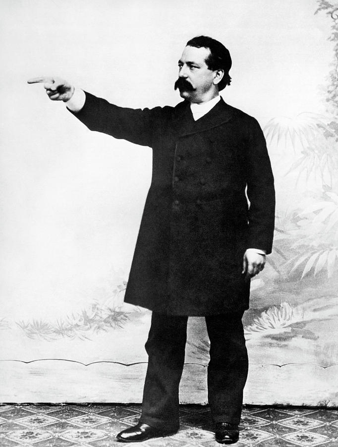1890 Photograph - Afl Leader Samuel Gompers by Underwood Archives