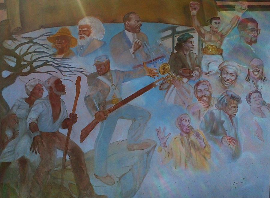 African American History Mural Photograph By George Pedro