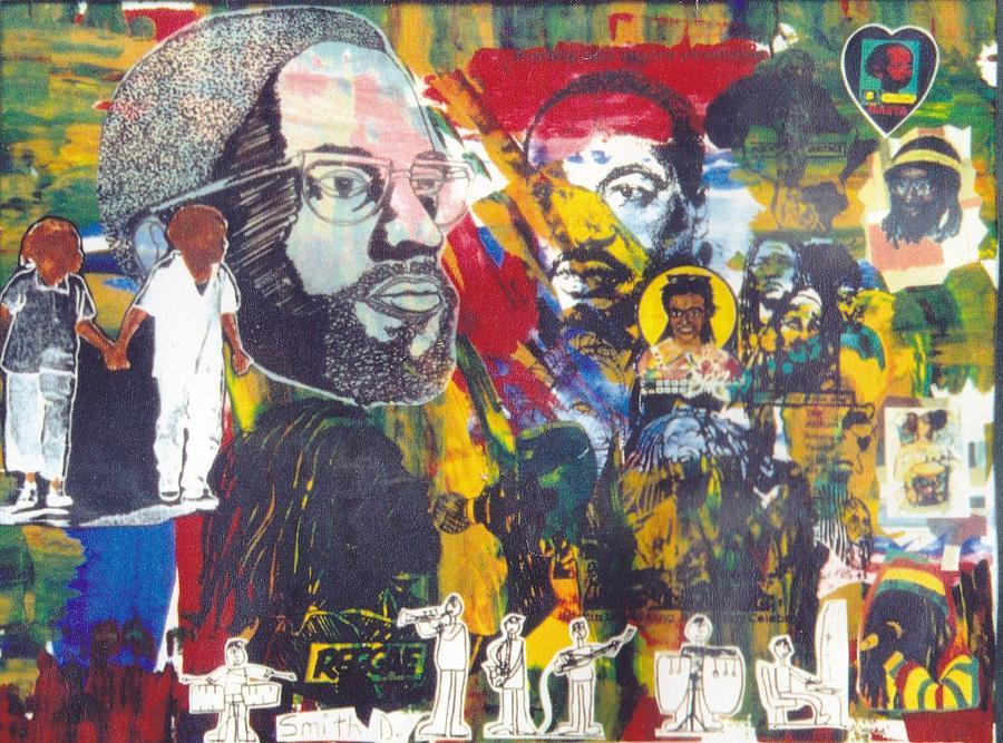 African History Painting by Kalikata MBula