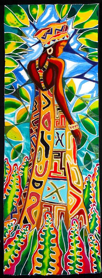 African Queen 2 Painting
