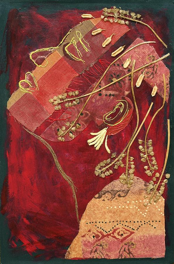 Profile Mixed Media - African Queen by Diane Fine