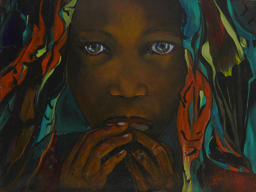 African Queen Painting by Ken Caffey