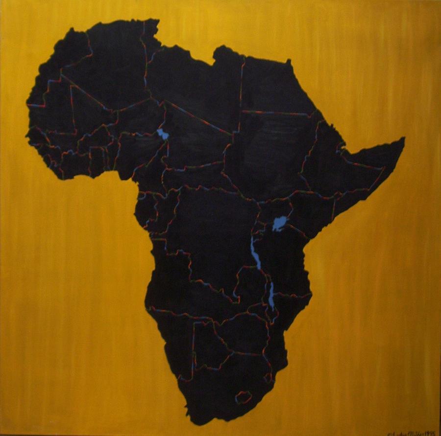 Africa Painting - Afrika by Leslye Miller