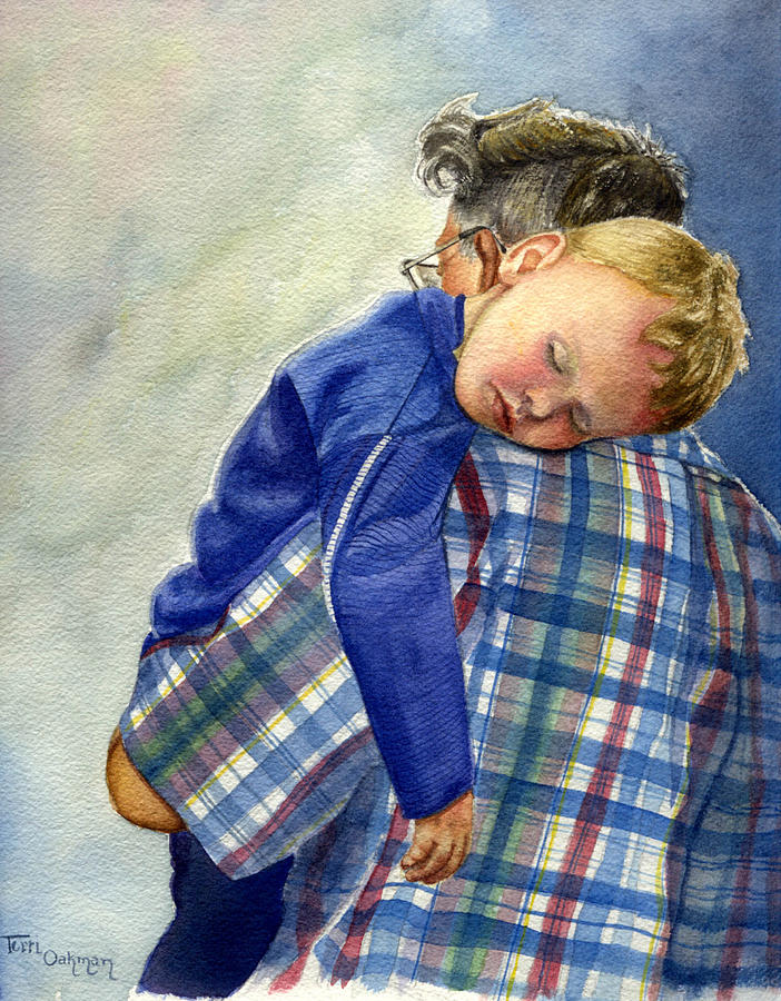 After A Long Day Painting by Terri  Meyer
