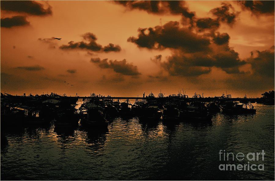 Sunset Photograph - After Storm by Vineesh Edakkara