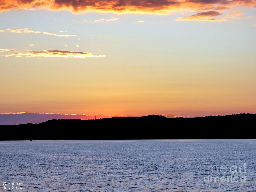 Landscape Photograph - After Sundown by Rennae Christman